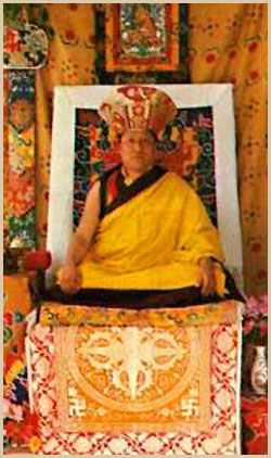 The Eighth Kyabje Dorzong Rinpoche